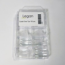 Crystal clear tips 100 pcs