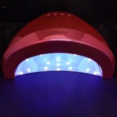 LED UV dual Lamp Sunone Pink
